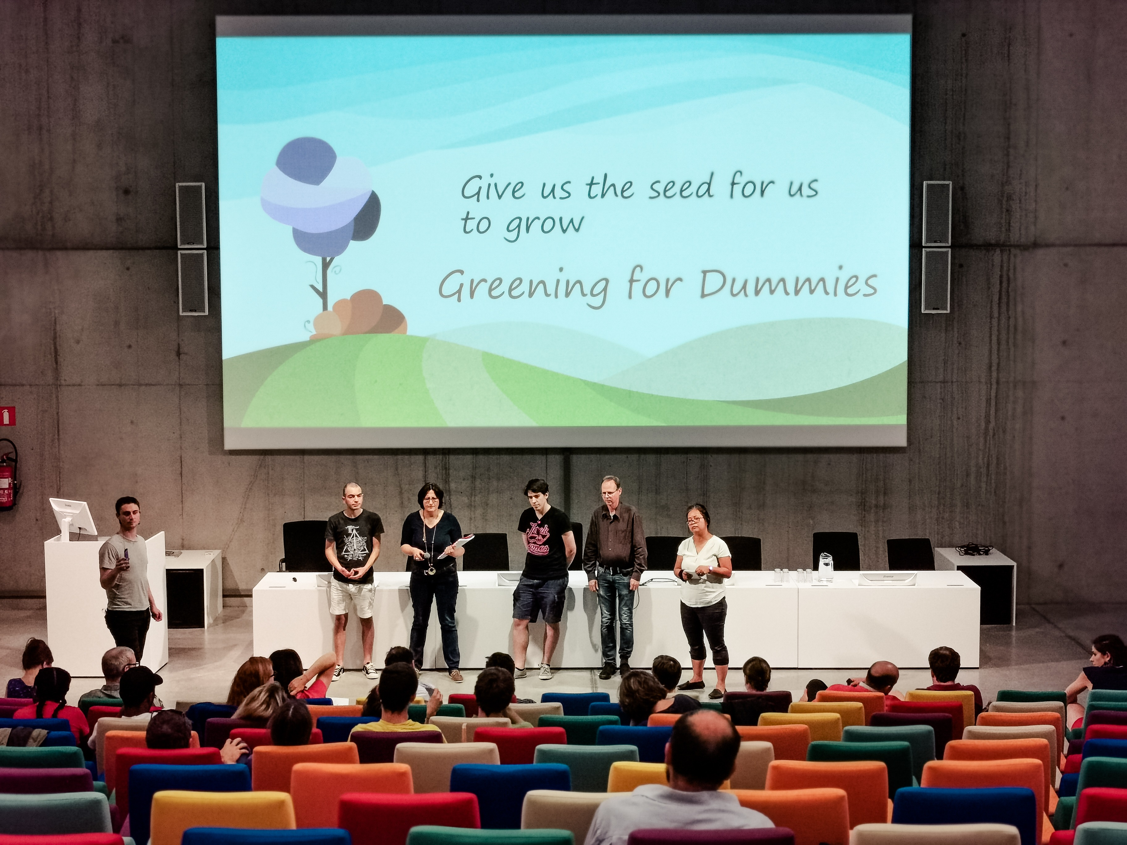 ideate for climate solution greening for dummies
