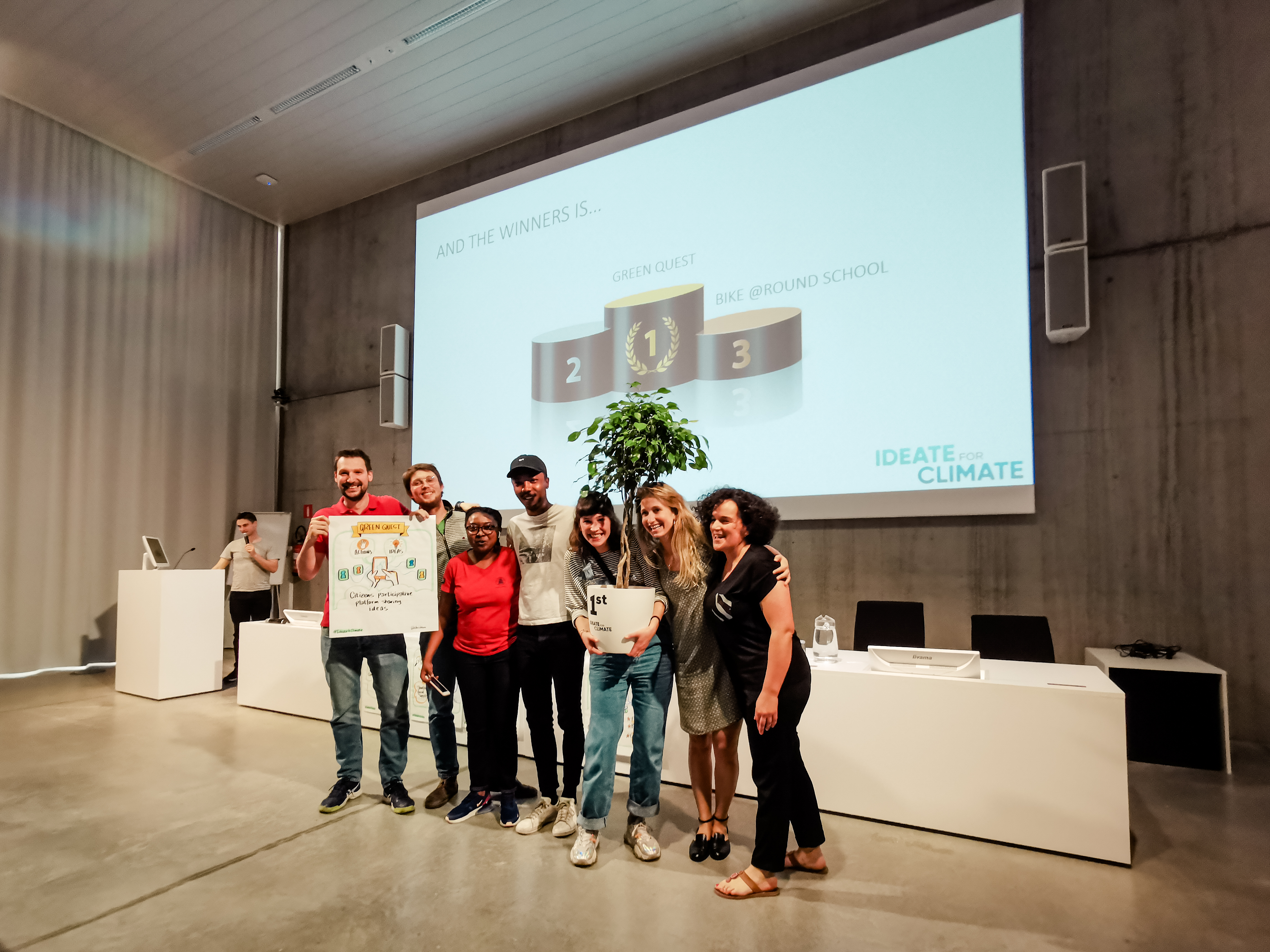 ideate for climate first prize