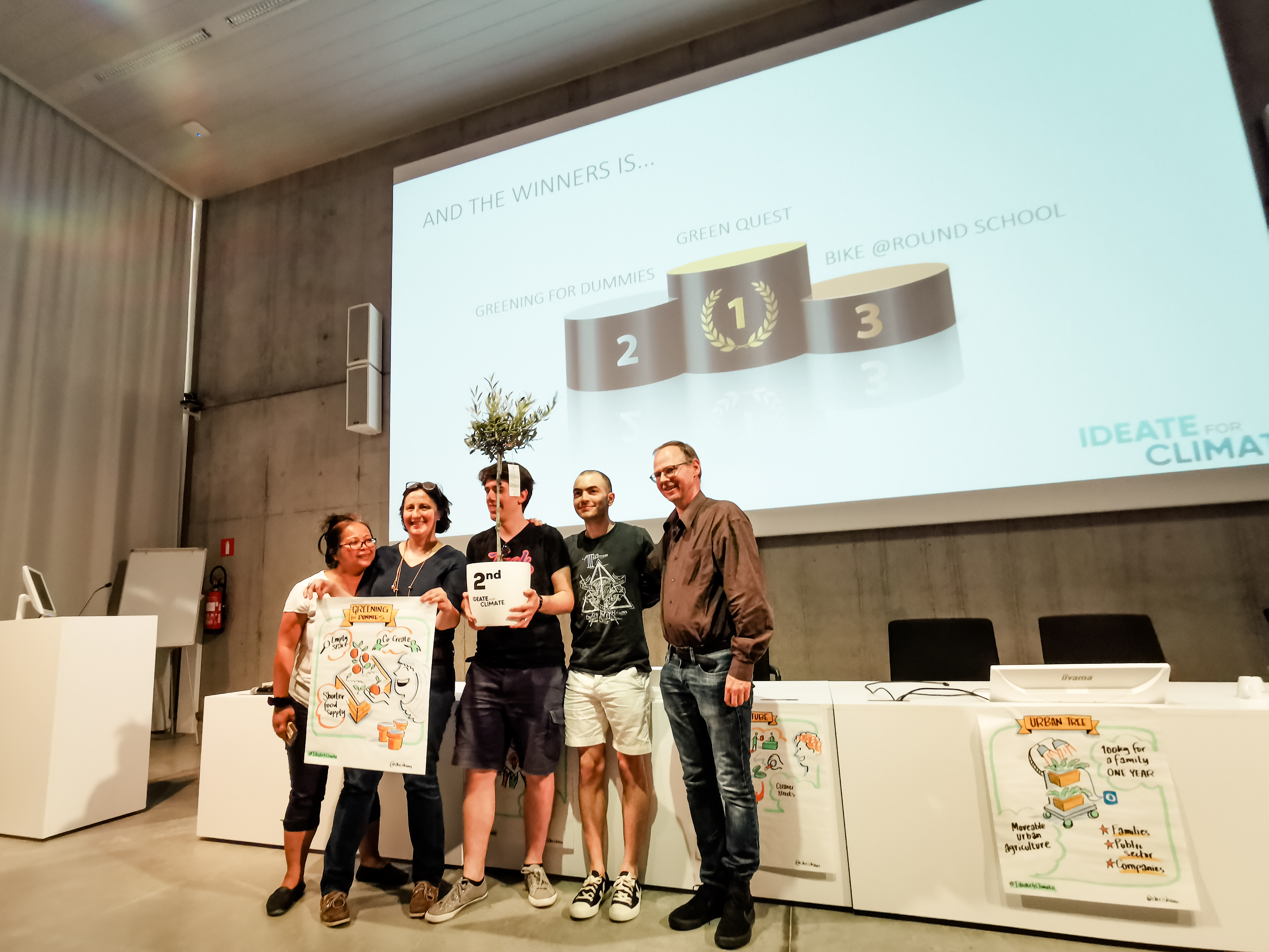 ideate for climate second prize