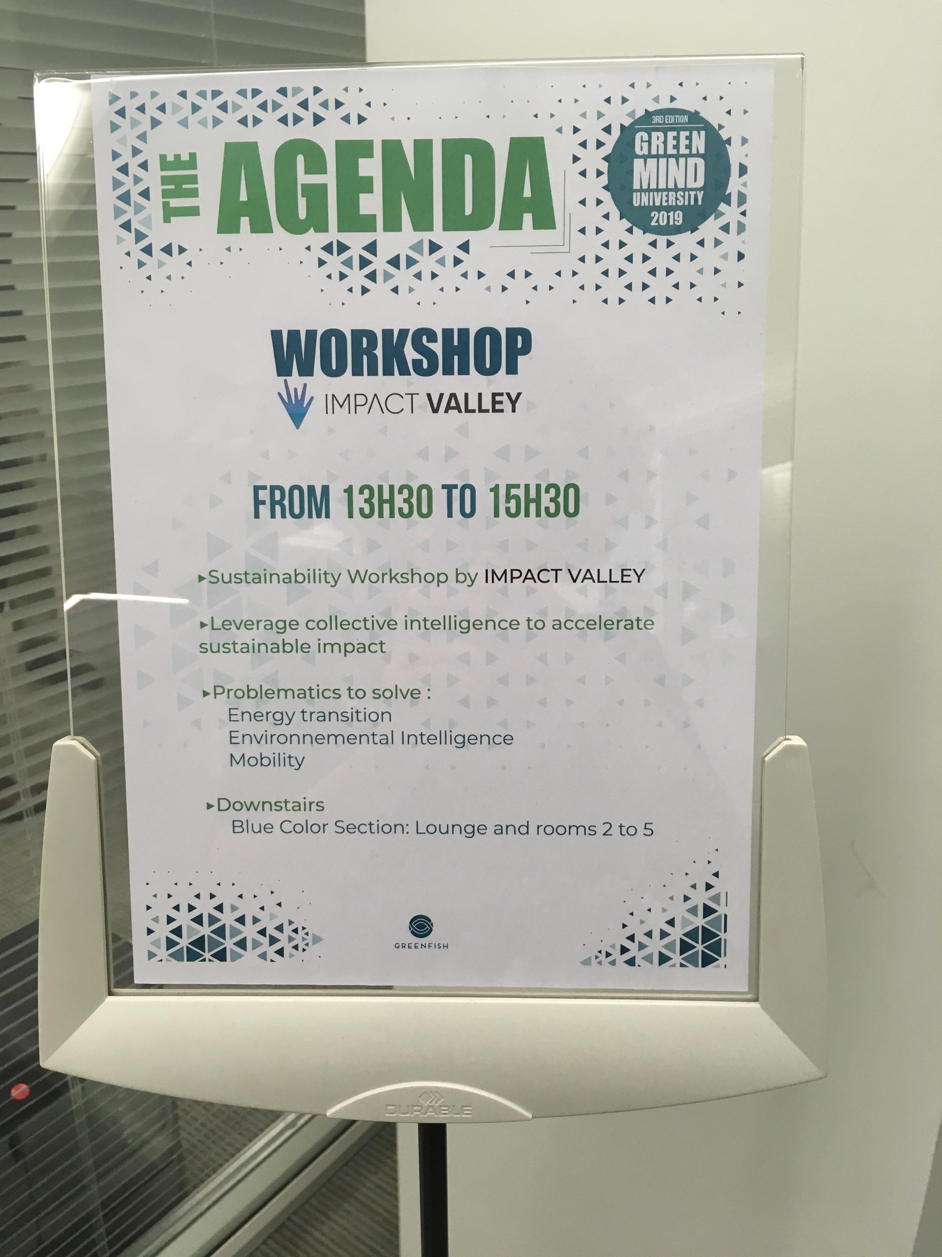 Agenda workshop greenfish